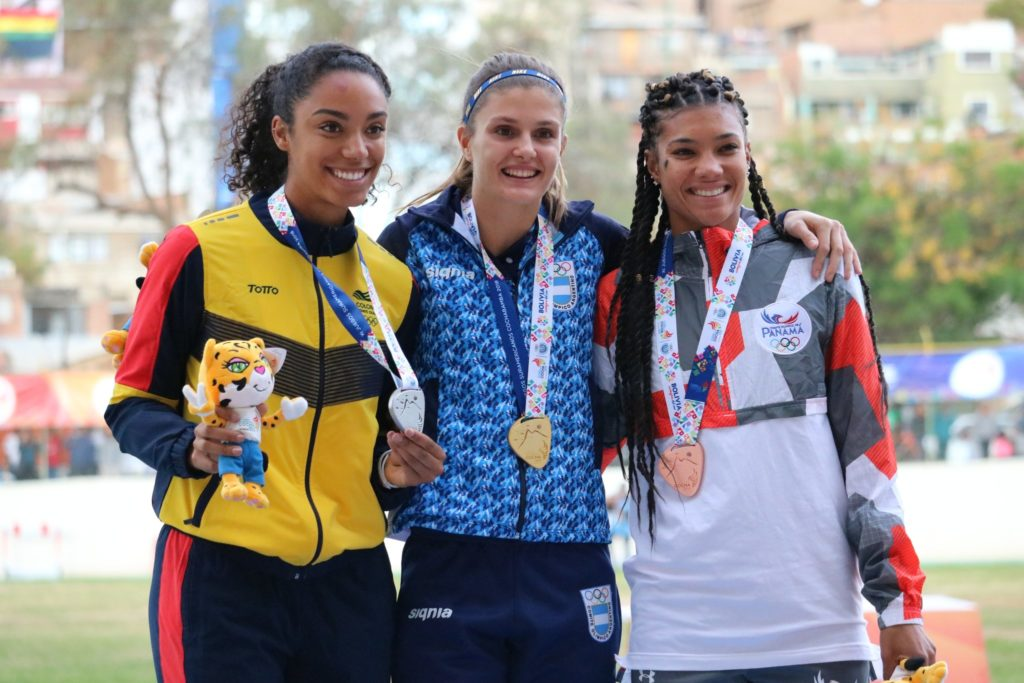 400 mts Vallas Femenina medalla femenina